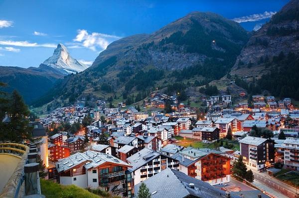 شهرهای گردشگری معروف سوئیس